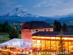 Columbia Gorge Wedding Venues Are Remarkable For Their Pristine Mountain Views Bluffs Overlooking The Great River And Proximity To Some Of